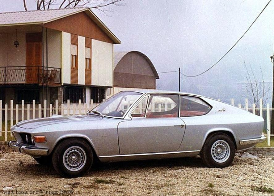 Bmw 2002 Gt4 By Frua 1969 Bmw Concepts And Prototypes