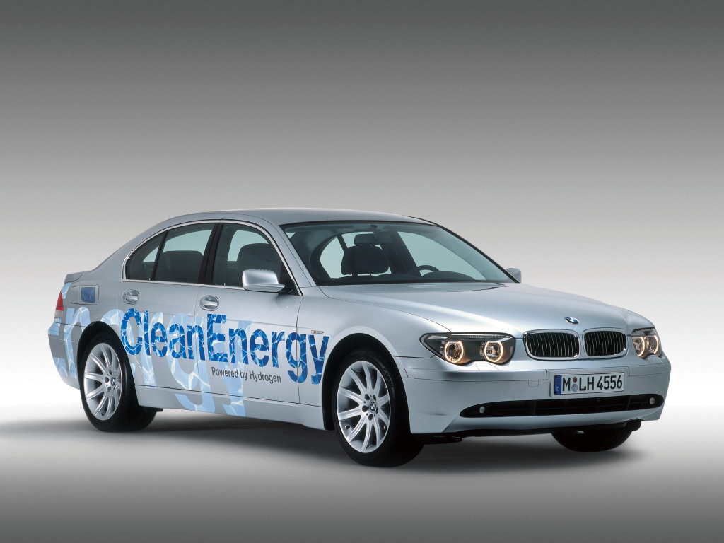 BMW 745h CleanEnergy Concept (E65) (2002) | BMW Concepts and Prototypes