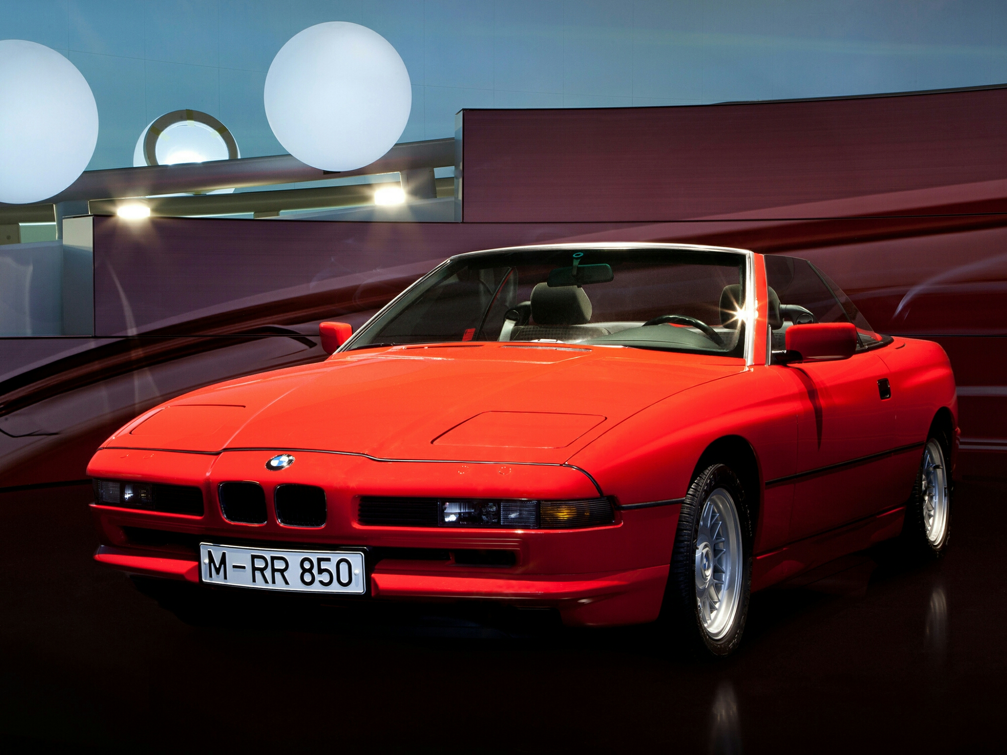 bmw 850ci cabrio prototype e31 1990 bmw concepts and prototypes. Black Bedroom Furniture Sets. Home Design Ideas